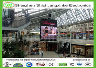 P6 Indoor Hanging shopping mall LED Screen, Light Weight LED Panel in 3D image
