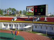 de boa qualidade vídeo RGB levado & Arrendamento video 1R1G1B da parede do diodo emissor de luz do placar P4.81 da propaganda do estádio dos esportes à venda