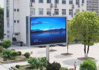 10mm Pixels Outdoor Advertising Led Display Screen With Wifi / 3G Wireless Control