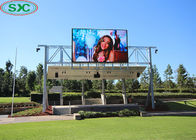 Outdoor Advertising LED Screens P4 Full Color Display Panels 768x768mm Video Wall Billboard