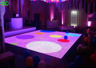 Indoor Full Color p6.25 led disco dance floor High Definition With Constant Current 1/5 Scanning