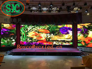 Indoor HD Led Video Display Screen , Flexible LED Display P4 RGB 3 In 1 SMD2121
