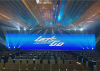 Rental Hanging LED Display Light Weight Aluminum Cabinet 3840HZ HD P1.56 1R1G1B