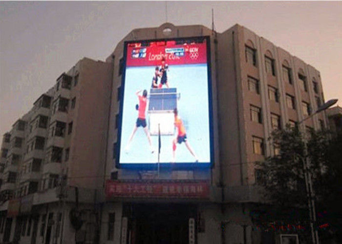 P4 Full Color Outdoor Led Screen Panels With Die Casting Aluminum Cabinet
