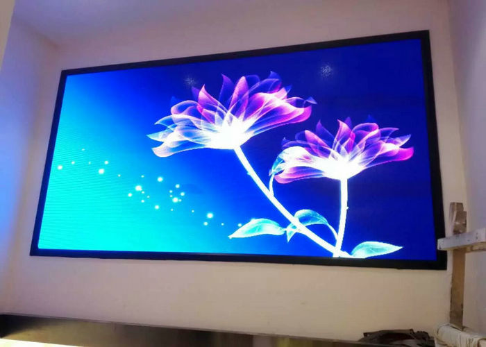 Interior P2.5 1/32 Scan Full Color Led Display Panel 480x480mm Cabinet