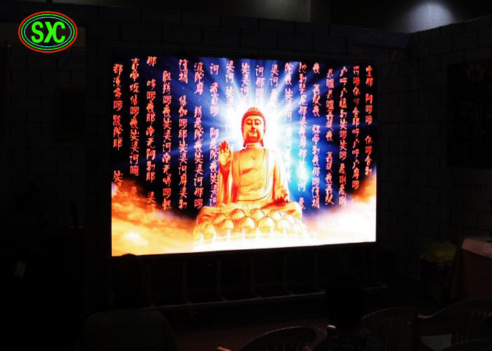 Renta Meeting room P4 Rental indoor led screen die cast aluminum cabinet advertising led display for concert, Dj booth