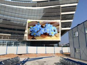 Video P8 SMD Ooutdoor Advertising Led Display Building Billboard Epistar Chip HD