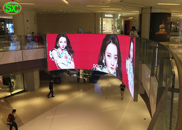 P3.91 Flexible Rental hanging indoor led video wall screen for exhibition concert
