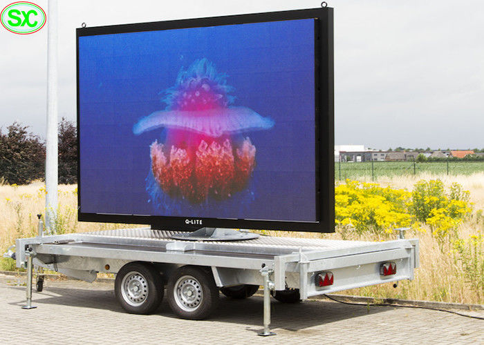 Mobile Advertising Vehicle Led Display Electronic Billboards Outdoor P3.91 3840hz