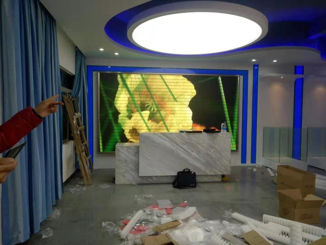 P2.5mm Indoor Advertising LED Display , Video Wall Displays MeanWell Power Supply