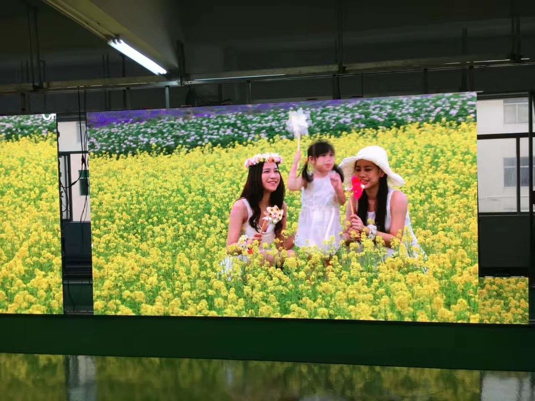 Outdoor HD Full Color Stage LED Screens RGB 3 In 1 Pixel Configuration