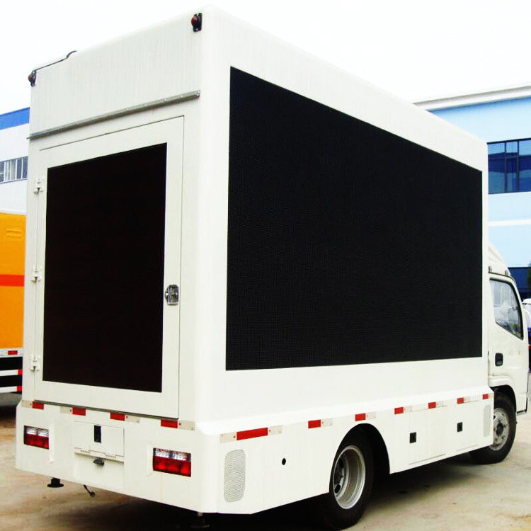 HD P6 Mobile Truck Mobile LED Screen Rental DC5V Working Voltage Simple Structure