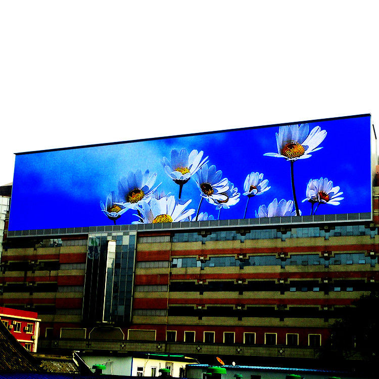 SMD P16 P10 P8 Outdoor Video Advertising LED Display Board 4 - 250m View Distance