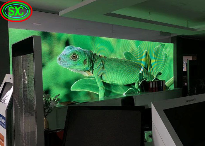 SMD Indoor Full Color Led Display 1080p Hd Screen Black Color High Refresh Rate