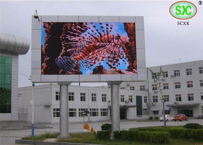 Railway / school Giant LED Screen , P10  High definition HD Led Video Wall