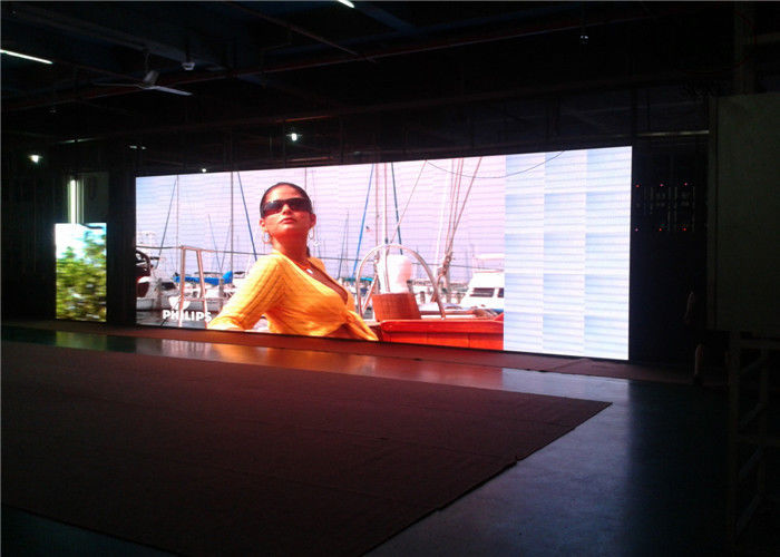 High Resolution Waterproof P 10 Indoor Full Color LED Display Screen For TV-Show